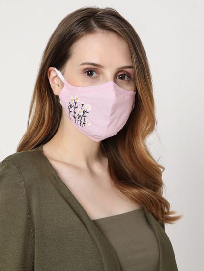 Blue & Pink Masks - Pack of 2