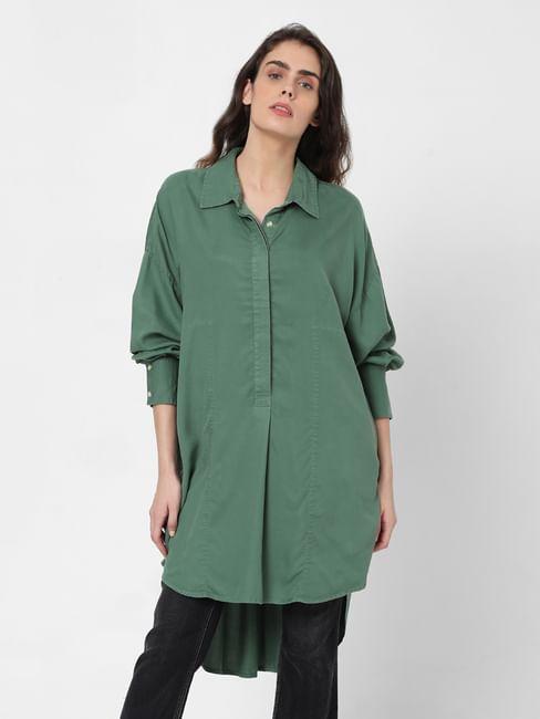 Green Tunic Shirt
