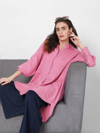 Pink Tunic Shirt