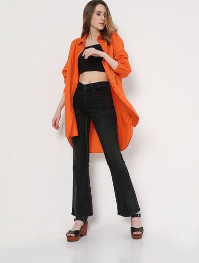 Orange Tunic Shirt