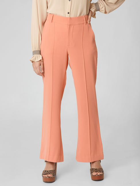 Coral High Rise Pants