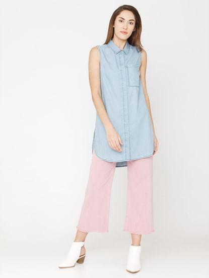 Blue Denim Long Shirt