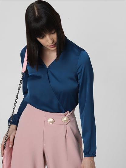 Azure Blue Top