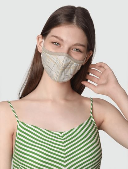 Pack of 2 Lightweight Denim 3PLY Anti-Bacterial Mask