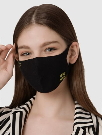 Pack of 2 Seamless Knit 2PLY Anti-Bacterial Mask