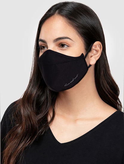 Pack of 2 Quote Print 3PLY Anti-Bacterial Mask