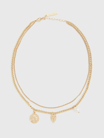 Golden Layered Necklace