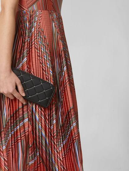 Black Studded Wallet
