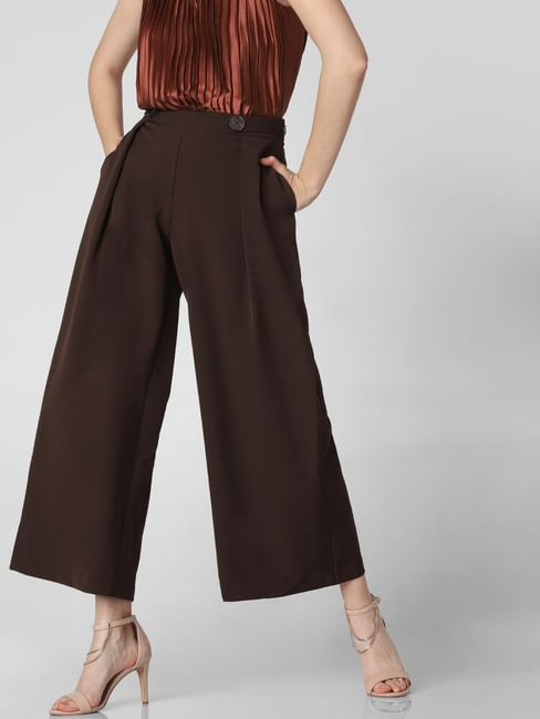 Dark Brown High Rise Culottes