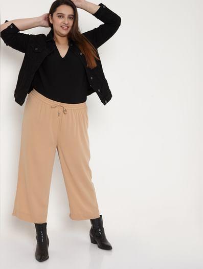 Dark Beige Pants