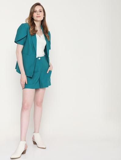 Green Co-ord Shorts
