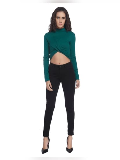 Criss-Cross Cropped Top