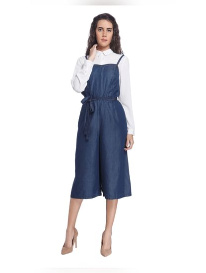 Solid Casual Jumpsuit