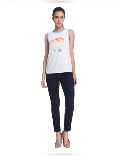 Graphic Casual Top