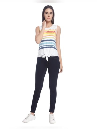 Stripes Medium Casual Top