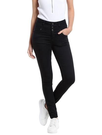 Black Super Slim Pants