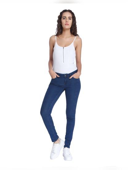 Dark Blue Super Slim Jeans