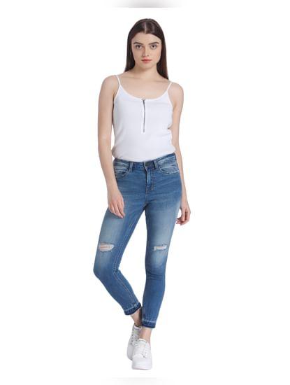 Blue Super Slim Jeans