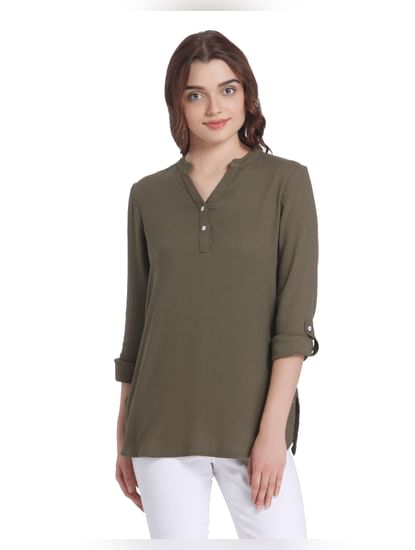 Deep Green Tunic