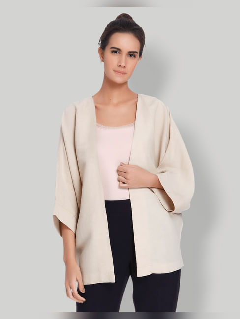 Beige Kimono
