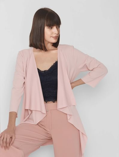 Pink 3/4th Jacket