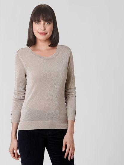 Silver Shimmer Pullover