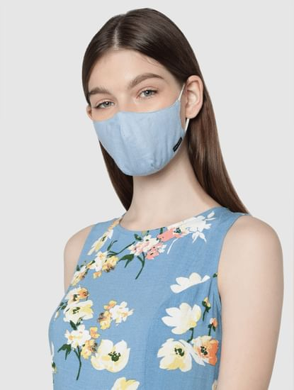 Pack of 3 Lightweight Denim 3PLY Anti-Bacterial Mask